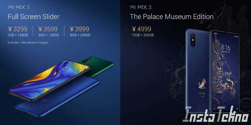 Xiaomi Meluncurkan Ponsel 5G Pertama Dengan Kamera Geser, Mi Mix 3