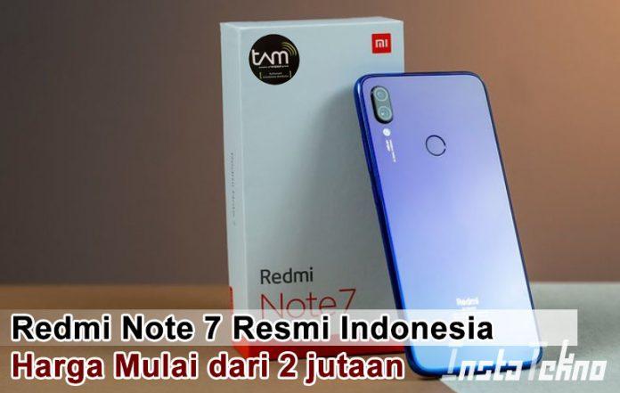 Redmi Note 7 Resmi Indonesia, Harga Mulai dari 2 jutaan