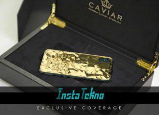 Caviar Keluarkan iPhone XS dan iPhone XS Max Dengan Desain Wajah Presiden Amerika