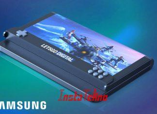 Smartphone Gaming Samsung Dengan Tampilan Layar Bisa Dilipat