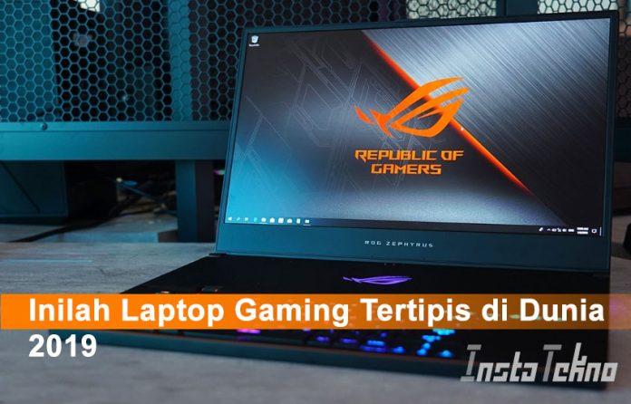 Inilah Laptop Gaming Tertipis di Dunia 2019